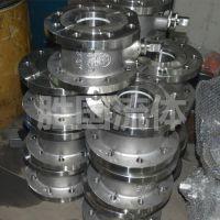 工厂热销薄型球阀Q71F-16C 碳钢材质 手动对夹球阀