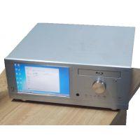 全铝 客厅电脑 HTPC 9寸触摸屏 显示器4U 工控 服务器一体机箱