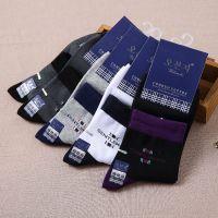 五本指 纯棉男士商务袜盒装春夏男袜批发袜子代工男款棉袜贴牌