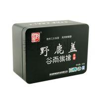 50克装红茶铁包装罐 方形金属礼盒 茶叶铁罐定制 三七粉铁罐