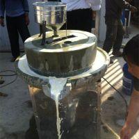 米浆电动石磨 精工制造豆浆机 恒丰牌30型高硬度豆腐石磨