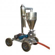 沙子小石子用车载上料机 晒场吸谷机 多型号吸粮机定制