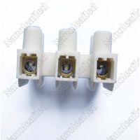 厂家直销3位接线端子 贯通式接线端子 接线柱 端子台 U型接线端子