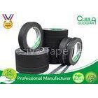 Low Stretch Black Colored Masking Tape waterproof For Painting / Decorative