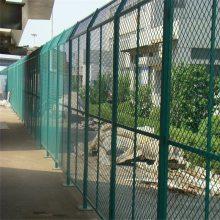 桃型柱防护网 临时使用护栏网 双边丝防护网