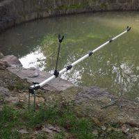 鱼竿支架 热销推荐 铝合金支架1.7米2.1米 渔具支架 鱼竿支架