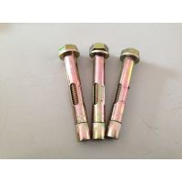供应六角螺杆套管壁虎6x8x60 膨胀螺丝螺栓 英制