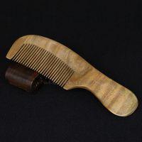 绿檀长梳 保健梳 优质精品 护发美发梳子