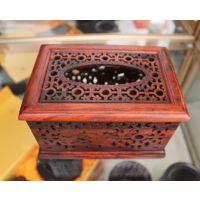 酸枝纸巾盒 红木抽纸盒 餐巾盒 高档餐桌摆品