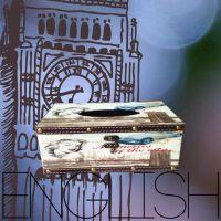 法国巴黎浪漫复古梦露长方形抽纸盒纸巾盒 创意皮革精品餐巾纸盒