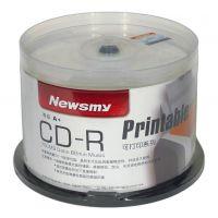 光盘印刷 可打印CD空碟 纽曼可打印CD 车载CD光盘 空光盘