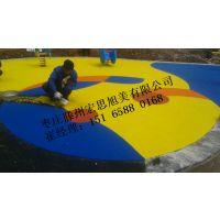 济宁幼儿园塑胶材料生产厂家施工队伍宏思旭美