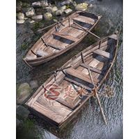 木船厂批发直销纯手工一头尖欧式欧式手划船 观光船 休闲船 服务客船
