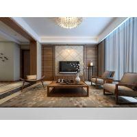 蜀山区华地公馆小区150平的房子装修现代风格