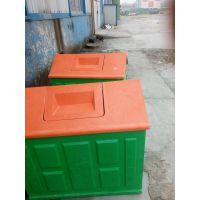 河北华强玻璃钢垃圾箱