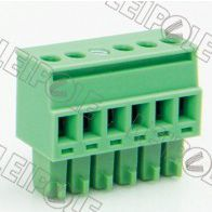 供应特供总代理上海雷普LEIPOLE线路板端子系列-插拔式接线端子PCB端子15ELPKA-3.81