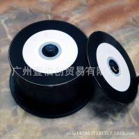 黑胶CD 黑胶半圈可打印CD 空白光盘 黑胶CD-R 厂家直销光盘批发