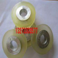 聚氨酯胶轮 各种机器设备滚轮 轴承铝芯铁芯聚氨酯包胶 PU异形件