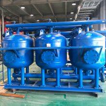 石英砂过滤器反冲洗,循环冷却水处理设备,大颗粒悬浮物处理器