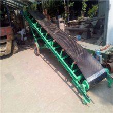 广东省番禺市 1.2米宽双槽钢主架9米长的包胶托辊皮带机