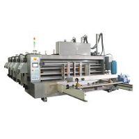 供应单人操作的G14C-1424前缘送纸自动链条印刷开槽机-为荣纸箱机械