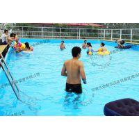 河南沃金(图)|支架游泳池定做|清流县支架游泳池
