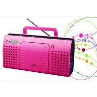 CD/radio boombox with MP3/USBSD便携式CD-MP3播放机FSD1870