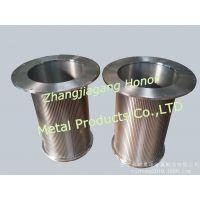 厂家供应精密不锈钢筛管、用于水产品类设备