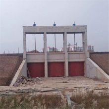 PGZ3米*3米单向铸铁闸门4米水头配多大的螺杆启闭机
