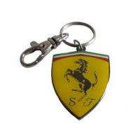 汽车型钥匙扣 汽车车标钥匙扣 保时捷标志钥匙扣定制