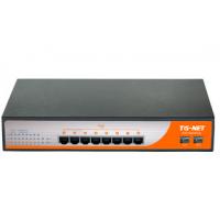 TG-NET P1009D-8PoE供电交换机监控专用交换机