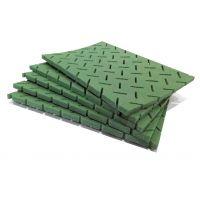 常州华迈专业研发生产PVC10mm厚度足球场 PVC人造草坪减震垫 吸震垫 人造草坪弹性基塑料垫