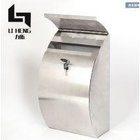 厂家供应304不锈钢信报箱小区别墅户外欧式不锈钢信报箱定制