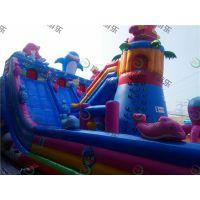 大型充气玩具 儿童充气蹦蹦床 充气城堡***流行的款式厂家直销