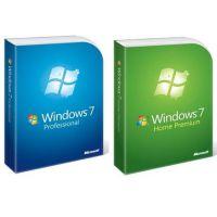 Microsoft windows7/win7系统 64位/32位旗舰版微软操作系统