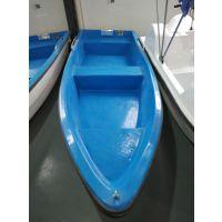 河道清洁船 3米长保洁船 玻璃钢手划船