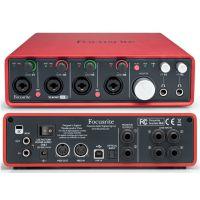 总代行货 Focusrite Scarlett 18i8 四个话放 USB 音频接口 声卡