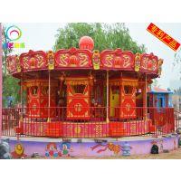 新型大花轿游乐设施设备专利产品电动旋转儿童游乐设备