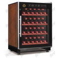雅绅宝压缩机红酒柜 不锈钢红酒柜图片 酒柜生产厂家 酒柜定做款式