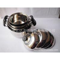 不锈钢单底双柄汤锅 组合盖 (L201)