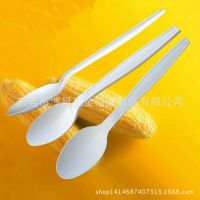 酒店餐厅餐饮一次性用品 一次性勺子 一次性玉米餐具165mm