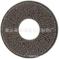 厂家热销 平磨机圆盘刷 去毛刺磨料丝圆盘刷 研磨刷