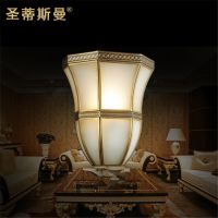 欧美田园风格装修壁灯 户内壁灯 室内装饰灯具 高档灯具 全铜灯饰