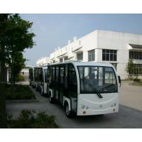 连云港 电动观光车 渔湾风景区旅游观光14座玻璃封闭门电动观光车