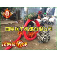粮食入仓抽粮泵 润丰 收粮用吸粮机 可以挂在车上