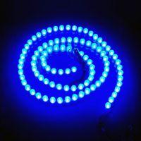 温馨LED柔软乳白硅胶防水长城软灯条96灯 点缀蜡烛灯带12V 高亮