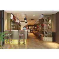 一个好的郑州餐厅装修设计能为消费者营造温馨的就餐环境