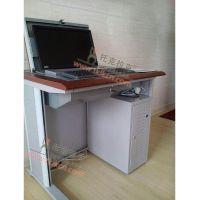 托克拉克品牌 哈尔滨新款电教室电脑桌 TKLK-06 银灰色简约现代