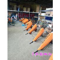 甘蔗收割机价格 单行甘蔗收割机型号 润丰也有拖拉前置设备