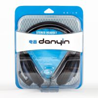 硕美科 电音DT2102耳机 头戴护耳式带麦 重低音线控耳机 网吧耳机